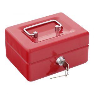 Rottner pénztároló kazetta Traun 1 érmetálcával kulcsos zárral piros