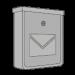 Nerezové a strieborné poštové schránky
